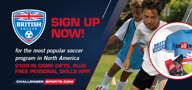 British Soccer Web Banner