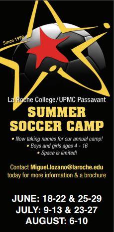 LaRoche College Soccer Camps