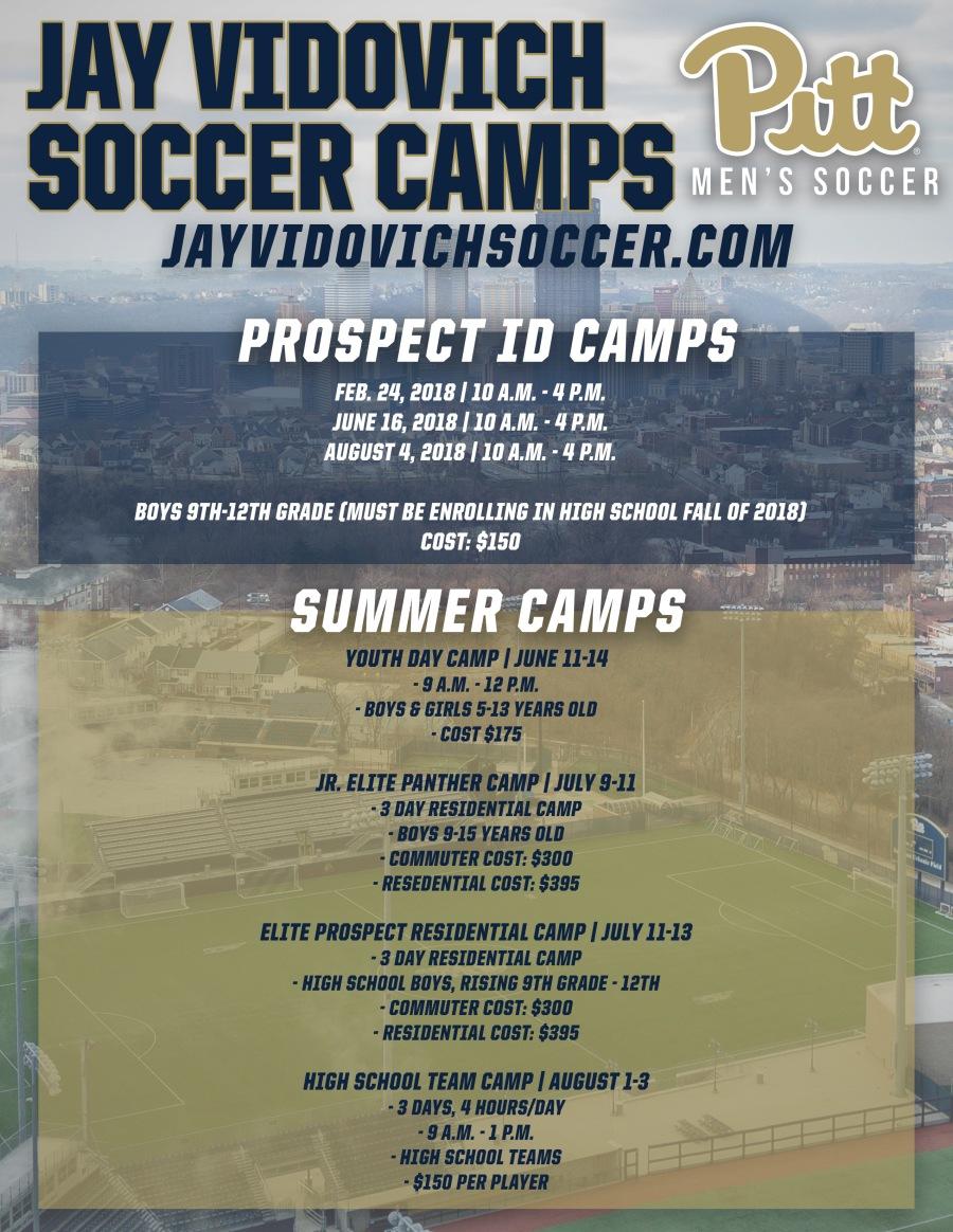 Pitt Soccer Camps
